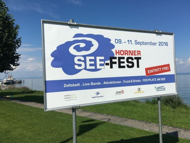 Top Stimmung am Seefest in Horn