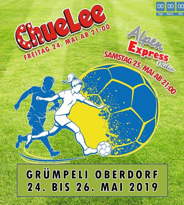 Party beim FC Oberdorf (CH)